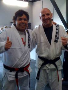 Brazilian Jiu Jitsu Black Belt Rich Zaydel and Master Joe Moriera!